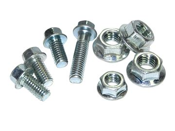Picture of flange nuts M6 , 25pc.
