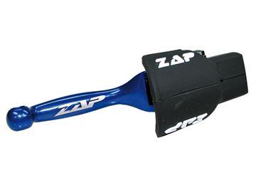 Afbeeldingen van Flex-brakelever Kawa KX(F) 00- 12, Suzuki RM(Z) 04-,Yamaha YZ(F) -07, YZF 250 -06 blue