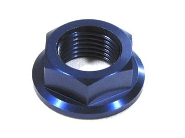 Picture of front axel nut CR(F), YZ(F) blue