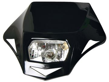 Picture of front light homologated black