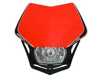 Picture of front light V-Face homologated black/red