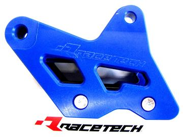Picture of RACETECH EVO chain guide KTM SX 08-,EXC 09-,HSB 09-13, HSQ TC/TE 14- blue