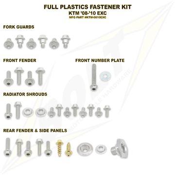 Afbeeldingen van Full Plastics Fastener Kit EXC 08-11