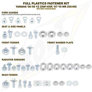 Afbeeldingen van Full Plastics Fastener Kit YZF 250/450 06-09