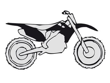 Picture of Plastic kit CRF 450 13-, CRF 250 14- black