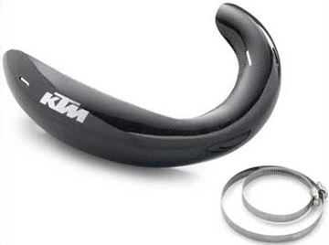 Picture of Pipe Guard Carbon KTM SXS 125