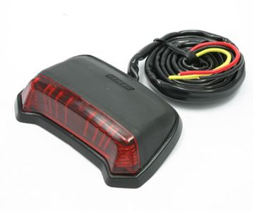 Afbeeldingen van Tail Light 'Phantom' red-Lens