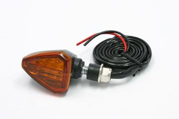 Afbeeldingen van 601 LED Flasher 12V orange 2pcs