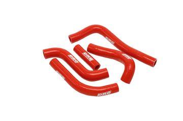 Afbeeldingen van Radiator Hose Kit RM125 01-14 red
