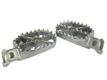 Afbeeldingen van Foot Pegs Complete KXF250 07-13/450 07-11