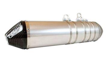 Afbeeldingen van Demper Alu.YZF450 10-13 Endcap carbon open ovaal