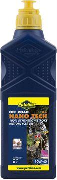 Picture of 1 lt flacon Putoline Off Road Nano Tech 4+ 10W-40
