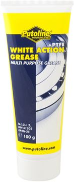 Picture of 100 gr tube Putoline White Action Grease + PTFE