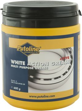 Picture of 600 gr pot Putoline White Action Grease + PTFE