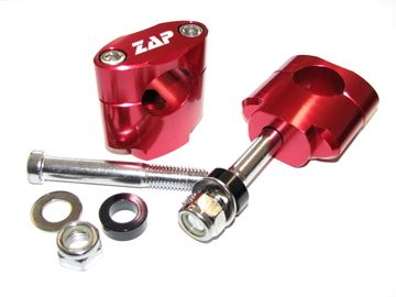 Picture of mounting kit 28.6mm/40mm OEM tripple clamps red