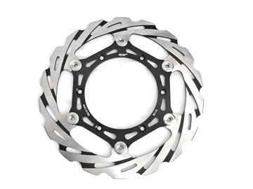 Picture of Brake disc SequenZe YZ 125/250 08-, YZF 250 07-, YZF 450 08- Oversize 270mm incl. silver adapter