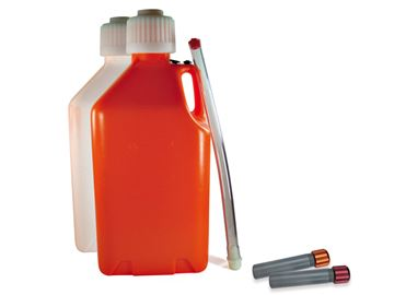 Picture of ZAP canister circa 18Liter ORANGE incl. filler hose and orange canister stuff