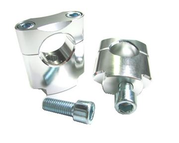 Picture of ZAP mounting kit (28.6mm) 35mm high silver