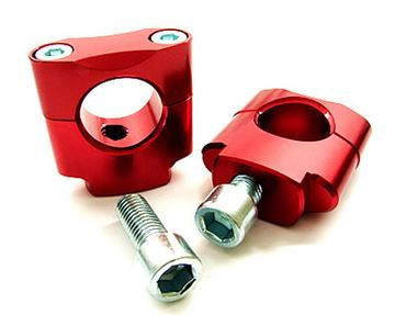 Picture of ZAP mounting kit (28.6mm) 40mm high red