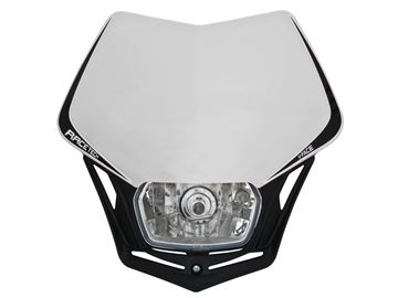 Picture of front light V-Face homologated black/white