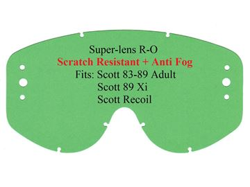 Picture of R-lens Scott 83-89 R-OFF (3-hole) clear