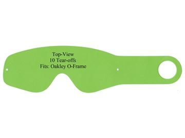 Picture of Tear-Offs Oakley 2000/O-Frame 10pcs pack