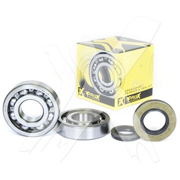 Afbeeldingen van ProX Crankshaft Bearing & Seal Kit CR125 '86-07