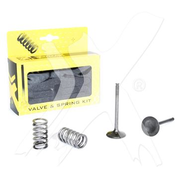 Picture of Prox Steel Exhaust Valve/Spring Kit KX450F '09-14