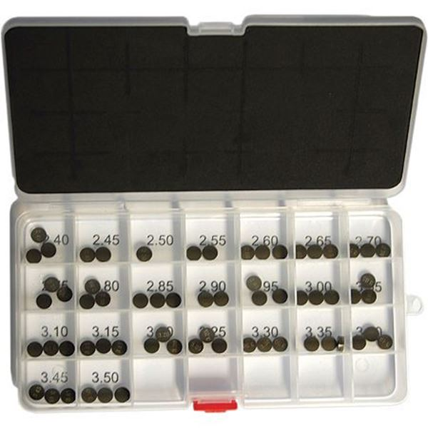 Picture of ProX Valve Shim Assortment KTM - 10.00 from 1.85 to 3.20