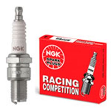 Picture of sparkplug NGK BR8EG YZ 250 96-, CR 250 90-, RM 250 01-, KTM 2T, TM 2T,GAS GAS 2T