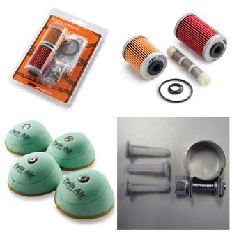 Picture for category KTM Filterkits (Air Oil Fuel)