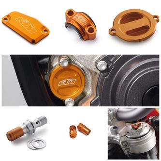Afbeelding voor categorie KTM Orange Colered Parts