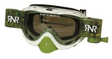 Picture of Rip 'n Roll Bril Hybrid+Roll Off White (green glass+canister)