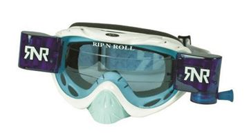 Picture of Rip 'n Roll Bril Hybrid+Roll Off White (blue glass+canister)