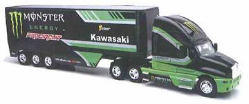 Afbeeldingen van Miniatuur Truck Kawasaki Monster 1:32