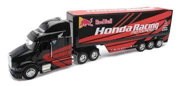 Afbeeldingen van Miniatuur Truck Honda Racing Red Bull 1:32