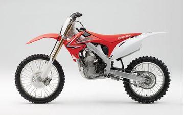Afbeeldingen van Miniatuur motor 1:6 cross Honda