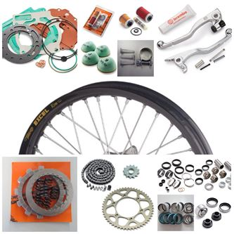 Picture for category KTM Spare Parts