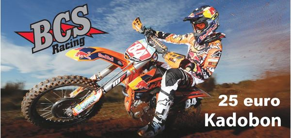 Afbeelding van Kadobon Bcs Racing 25 euro