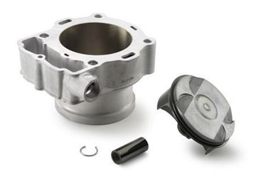 Picture of CYLINDER AND PISTON  FRONT