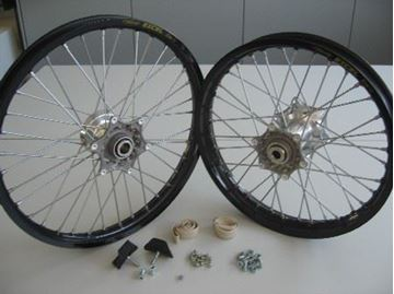 Picture of EXC-WHEEL SET BLACK   03-10