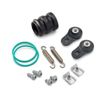 Afbeeldingen van EXHAUST HARDWARE KIT  MINI 05-14