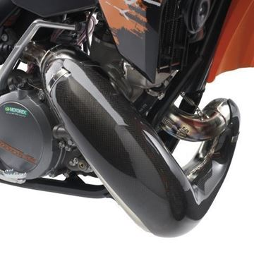 Picture of U6907832 CARBON PIPE GUARD