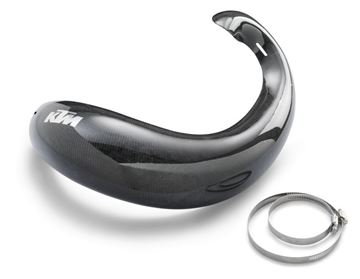 Picture of SXS07300510 CARBON PIPE GUARD