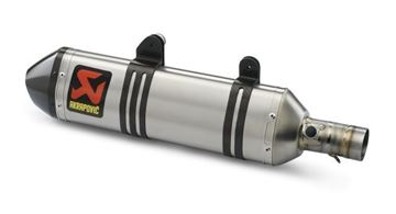 Picture of FACTORY SILENCER250/350/450/505 SX-F 07-12, 250/350/400/450/500/530 EXC-F 08-15, Titanium