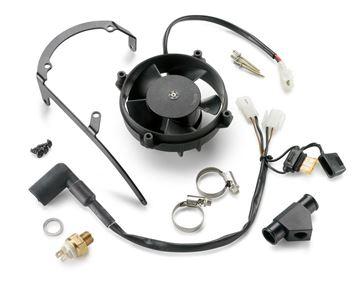 Afbeeldingen van ktm55135041044//Radiator fan//200 EXC 13-16, 250/300 EXC 08-16