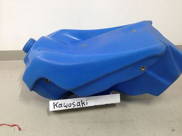Afbeeldingen van Tank groot kx125/250 94/98 blauw