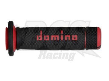 Afbeeldingen van domino711080-GRIP ATV BLACK/RED