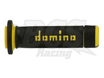 Afbeeldingen van domino711084-GRIP ATV BLACK/YELLOW