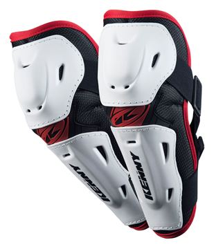 Afbeeldingen van ADULT ELBOW GUARDS WHITE